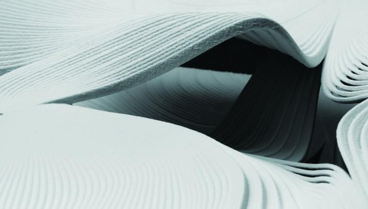 mock-up model interior - 3D printed