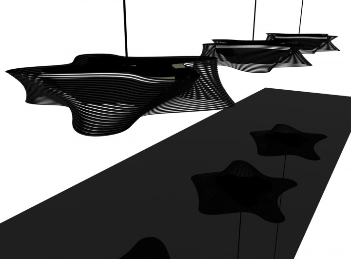 DINING LIGHT ROXY RAHEL (for UMA ARCHITEKTEN)